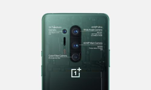 The OnePlus 8 Pro has four rear cameras.