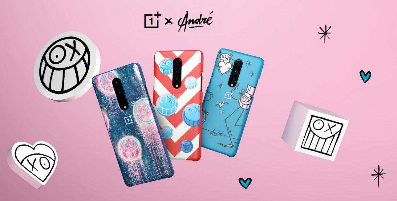 three special edition cases for the OnePlus 8 Series