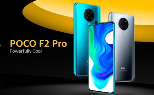 Poco F2 Pro mobile phone brings the ultimate experience with smooth performance, immersive visuals and futuristic design.