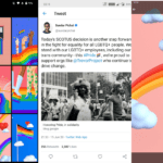 Pixel-exclusive Google Pride Wallpapers for Android in Google wallpaper collection