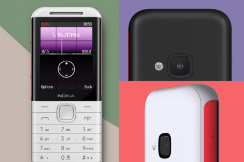 Nokia all new 5310 mobile phone comes with easy-to-use buttons, smooth curves, and a comfortable grip.