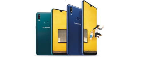 Samsung Galaxy A10s smartphone under Samsung Galaxy A series - available in 2GB/32GB and 3GB/32GB, 2GHz, 1.5GHz Processor, 2GHz, Octa-Core,  HD+ immersive screen with an Infinity-V display - specs, features, price, release date.