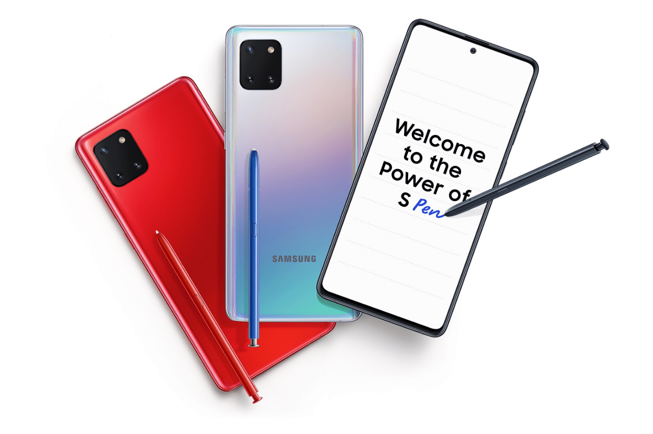 Here Everything About Samsung Galaxy Note 10 Lite Phone Review: Features, Specs, Price
